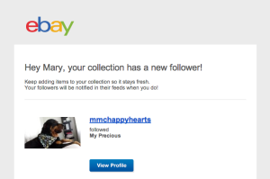 ebay social collections