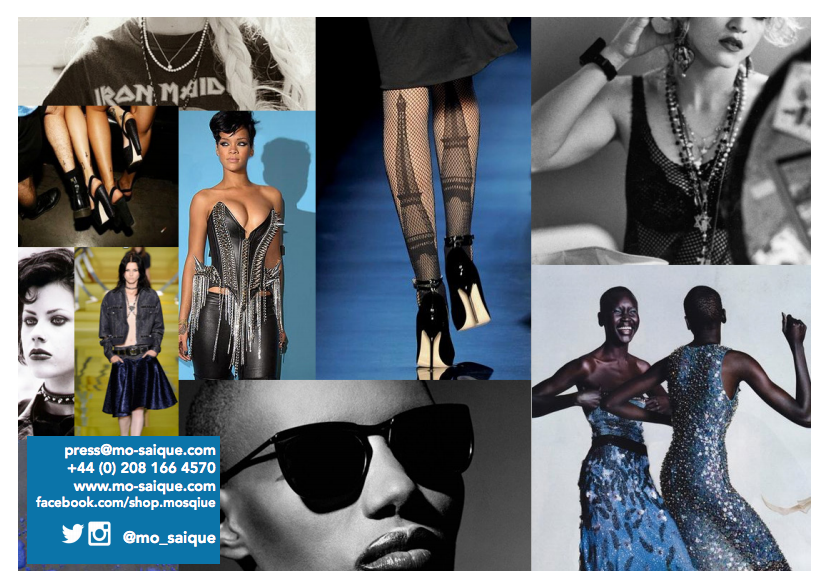 digital lookbooks for fashion - moodboard