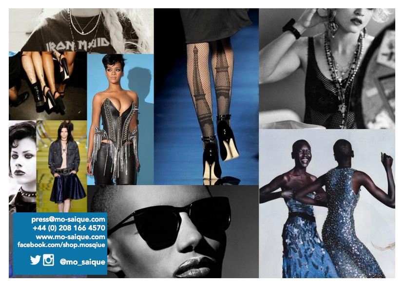digital lookbooks for fashion - moodboard